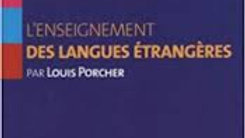L'enseignement des Langues Étrangères-Louis Porcher.