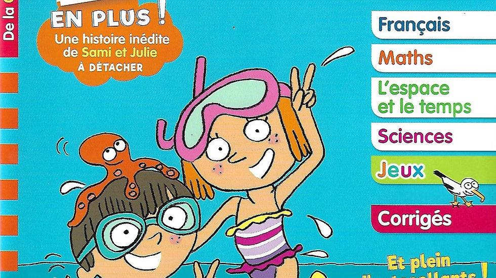 Mon Cahier de vacances- Sami et Julie 5-6 yrs