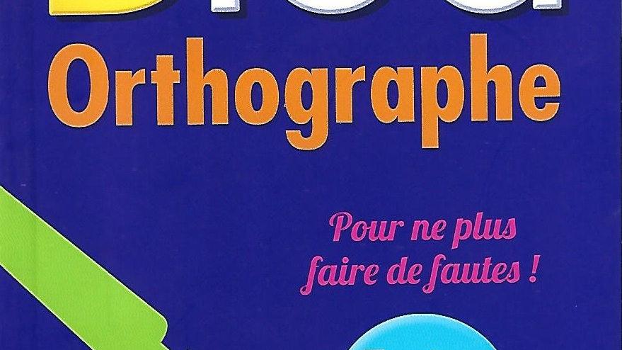 Bled- Orthographe ( Poche )
