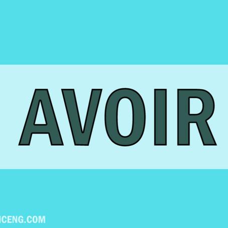 CONJUGATION- VERB AVOIR M.P.FG102