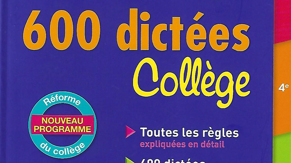 Le Bled- 600 Dictees ( College )