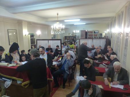 Pourim : A la synagogue