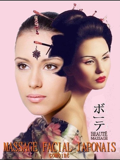 Lifting du visage japonais combiné