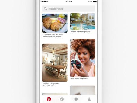 Pinterest : nouveau format vidéo