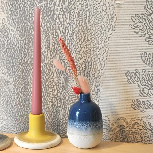 Sass and Belle Mojave Glaze Blue Vase