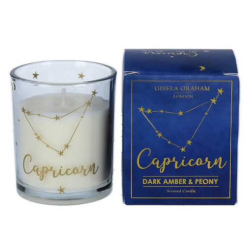 Capricorn Zodiac Star Sign Scented Candle