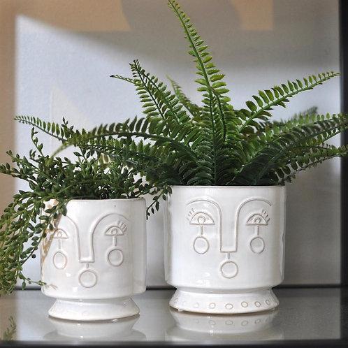 Ceramic Profile Pot Cover