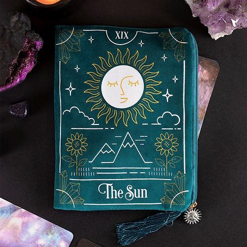 The Sun Velvet Tarot Card Bag