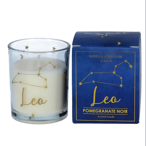 Leo Zodiac Star Sign Scented Candle