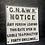 Thumbnail: Antiqued G.N.&W. Railway Sign