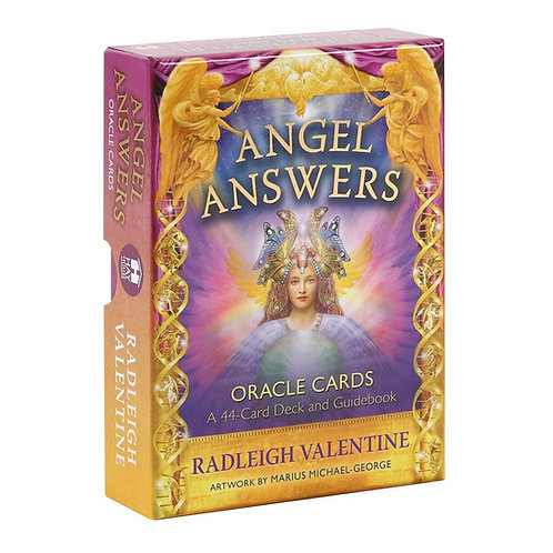 Angel Answers Oracle Cards with Guidebook