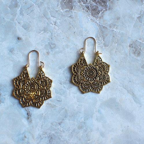 Gold Gypsy Earrings