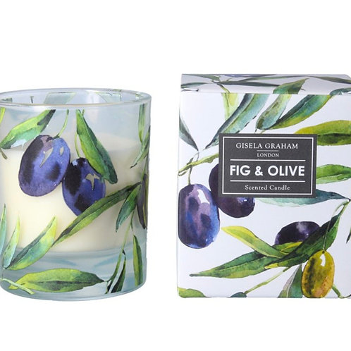 Olive & Fig Scented Candle