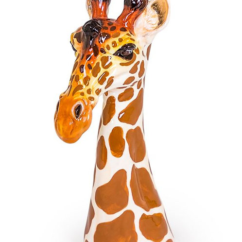 Fab Large Quirky Ceramic Giraffe Head Vase