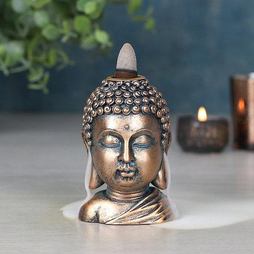 Buddha Head Backflow Incense Burner