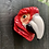 Thumbnail: Ceramic Red Macaw Parror Wall Vase