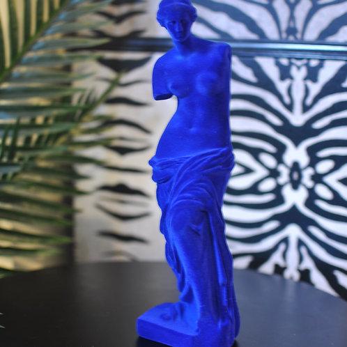 Colbolt Blue Flock Venus De Milo Figure