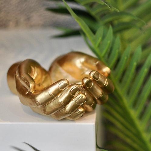 Gold Healing Hands