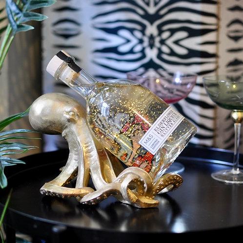 Gold Octopus Bottle Holder