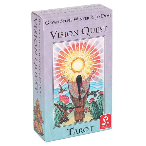 Vision Quest Tarot Cards The Native American Wisdom