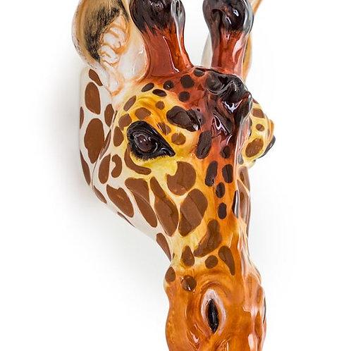 Ceramic Giraffe Wall Vase