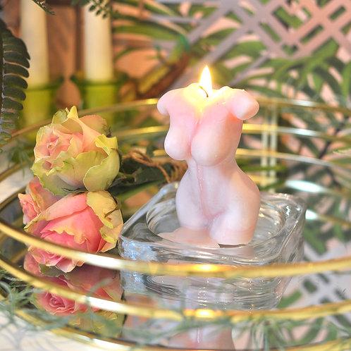 Gorgeous Rose Soy Goddess Candle