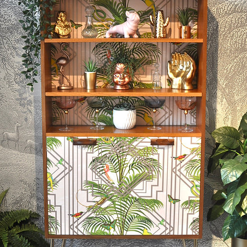 Upcycled Mid Century Vintage Retro G Plan Drinks Cabinet