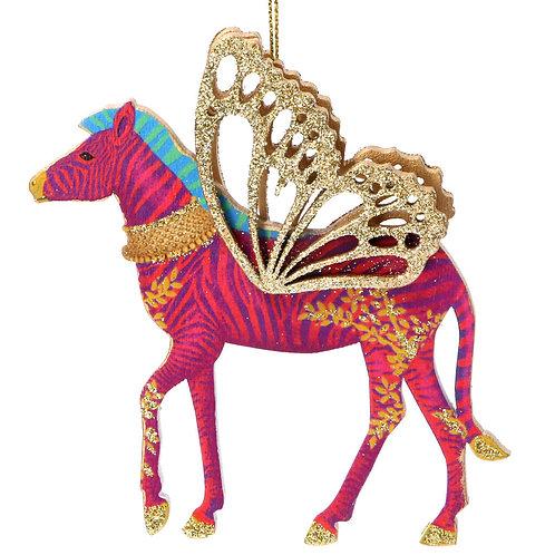 Fantasy Animal Pink ZebraTree Decoration
