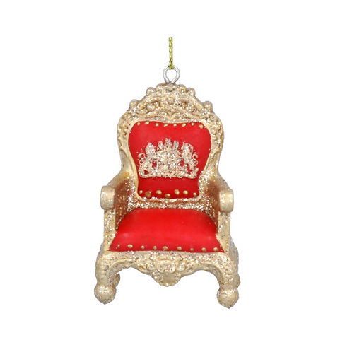 Red Royal Throne Christmas Tree Decoration