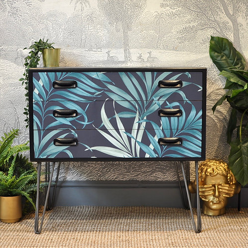 Upcycled Mid Century Vintage Retro G Plan Chest of Drawers
