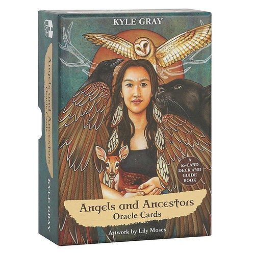 Angels and Ancestors Oracle Cards with Guidebook