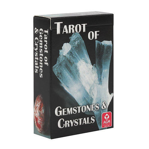 Gemstones and Crystals Tarot Deck with Detailed Guidebook