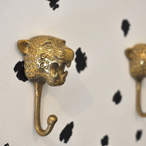 Gold Leopard Hook