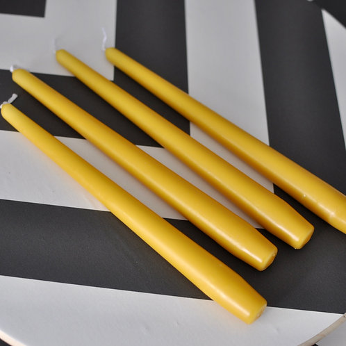 Mustard Tapered Candle Sticks