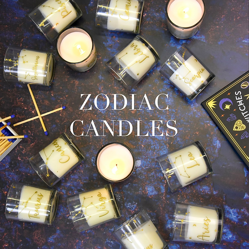 Zodiac Star Sign Scented Candles