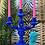 Thumbnail: Colbolt Blue Flock Candelabra