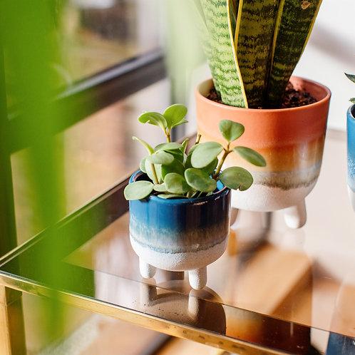 Colourful Mojave Glaze Mini Planters