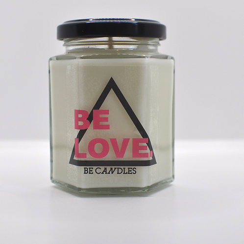 Be Love Velvet Rose & Oud Scented Soy Candle
