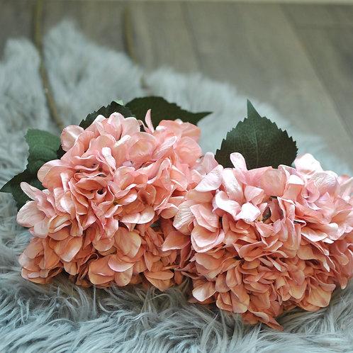Giant Pink Faux Hydrangea