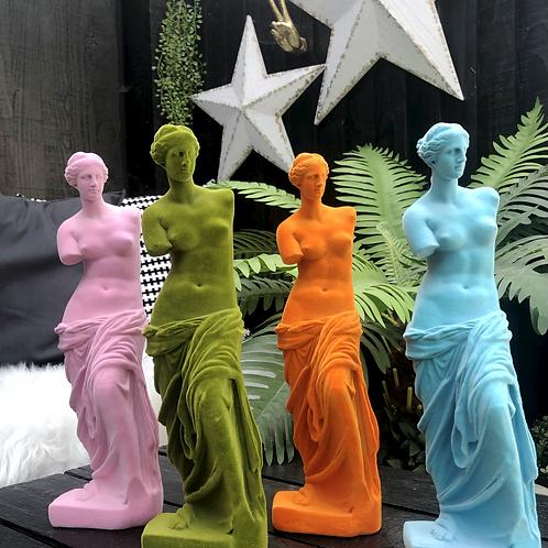 Flocked Venus De Milo Figures