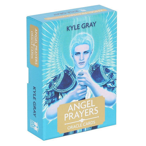 Angel Prayer Oracle Cards with Guidebook