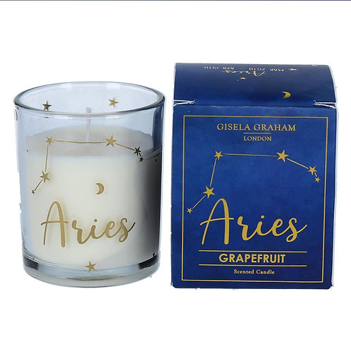 Aries Zodiac Star Sign Scented Candle