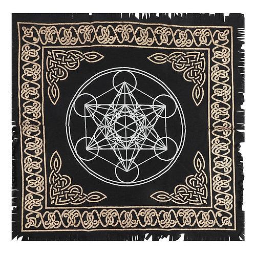 Metatrons Cube Altar Cloth