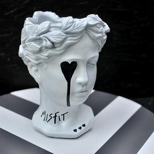 Misfit Goddess Head Sculpture