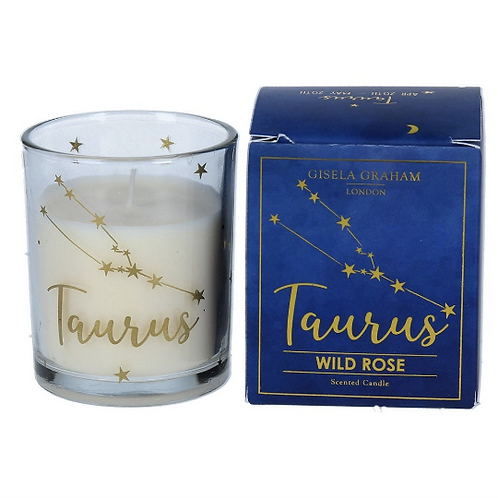 Taurus Zodiac Star Sign Scented Candle