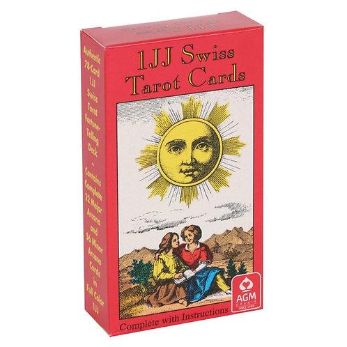 IJJ Swiss Tarot Deck with Detailed Guidebook