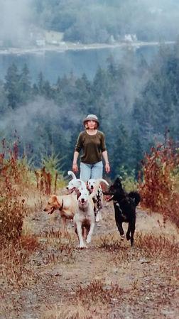 Lisalea w_dogs on hike.jpg