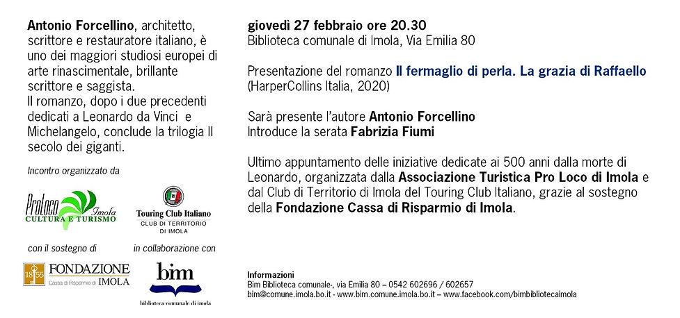 2020_02_27 Raffaello Antonio FORCELLINO