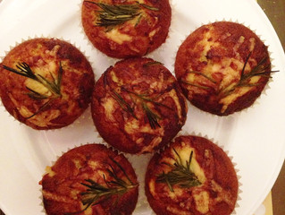 Zoe Nathan's Bacon Cheddar Muffins