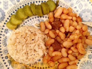 Comfort food - beans cassarole